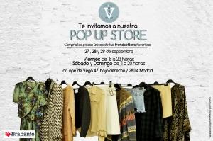 invitacion pop up store septiembre 2013