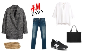 LOOK ZARA Y HM